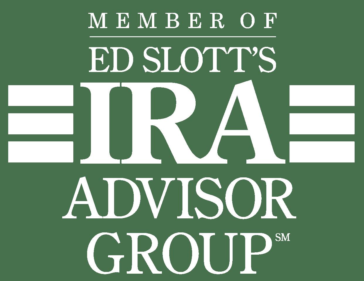 Ed Slott IRA Logo-White